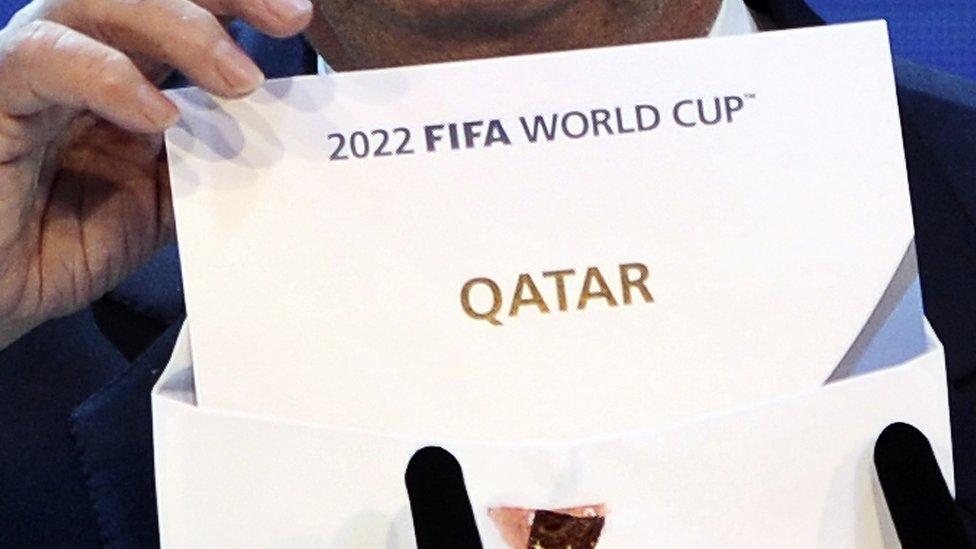 Hubo una gran sorpresa cuando la FIFA reveló a Qatar como la sede de la Copa Mundial 2022.