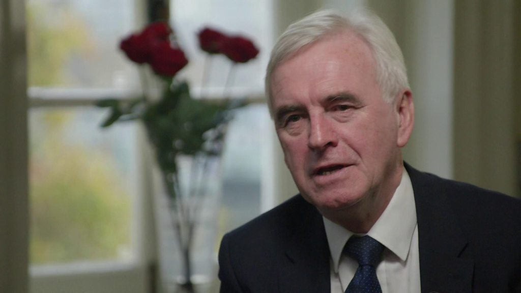 John McDonnell: 'I can't forgive Tories'