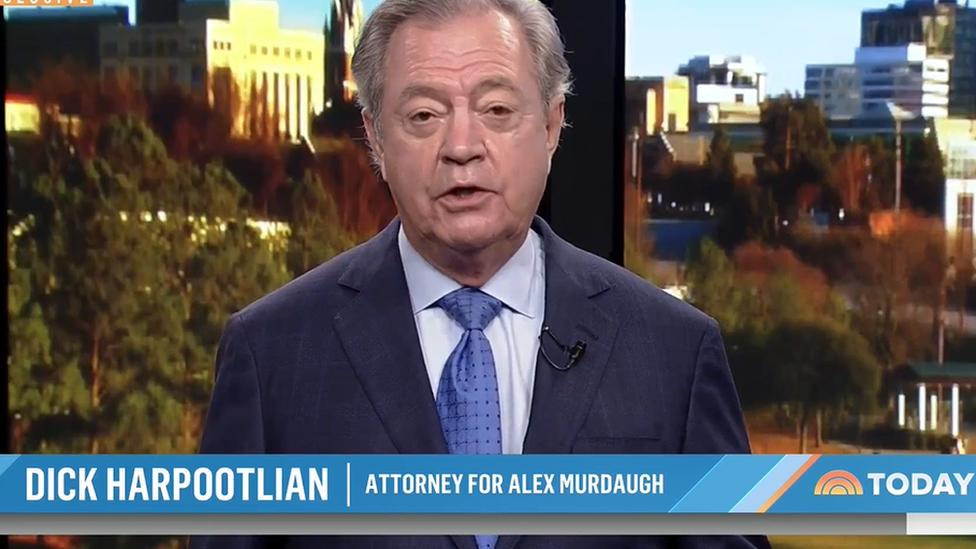 El abogado de Murdaugh en la cadena NBC.