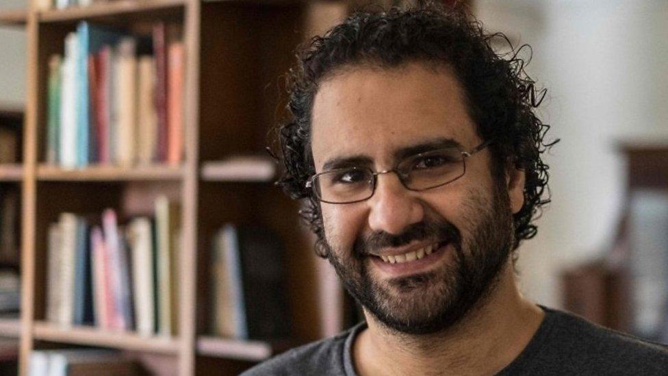 الناشط المصري علاء عبد الفتاح