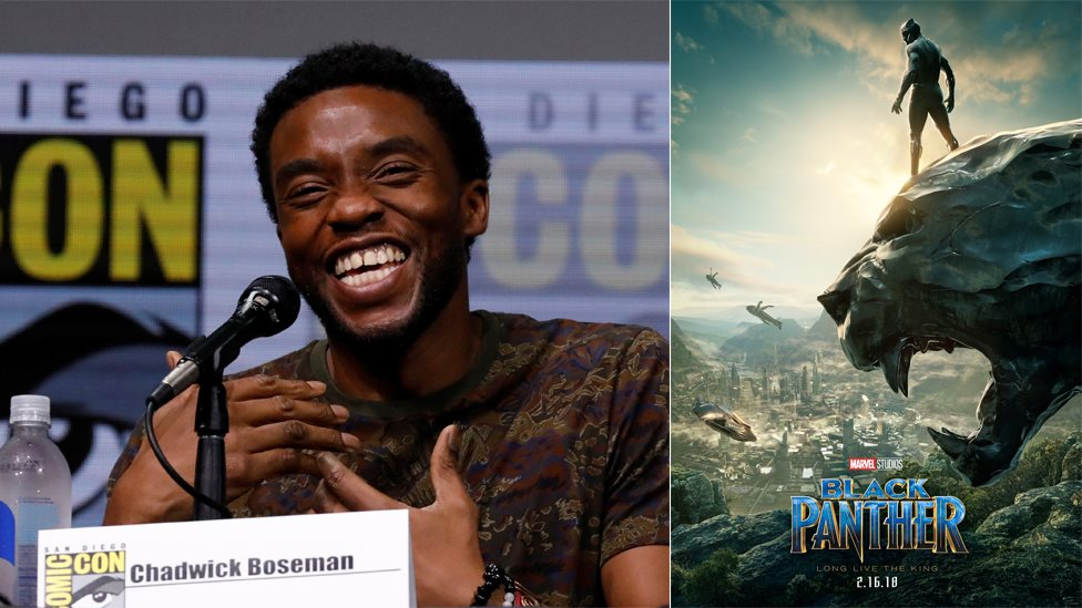 Chadwick Boseman and the new Black Panther poster