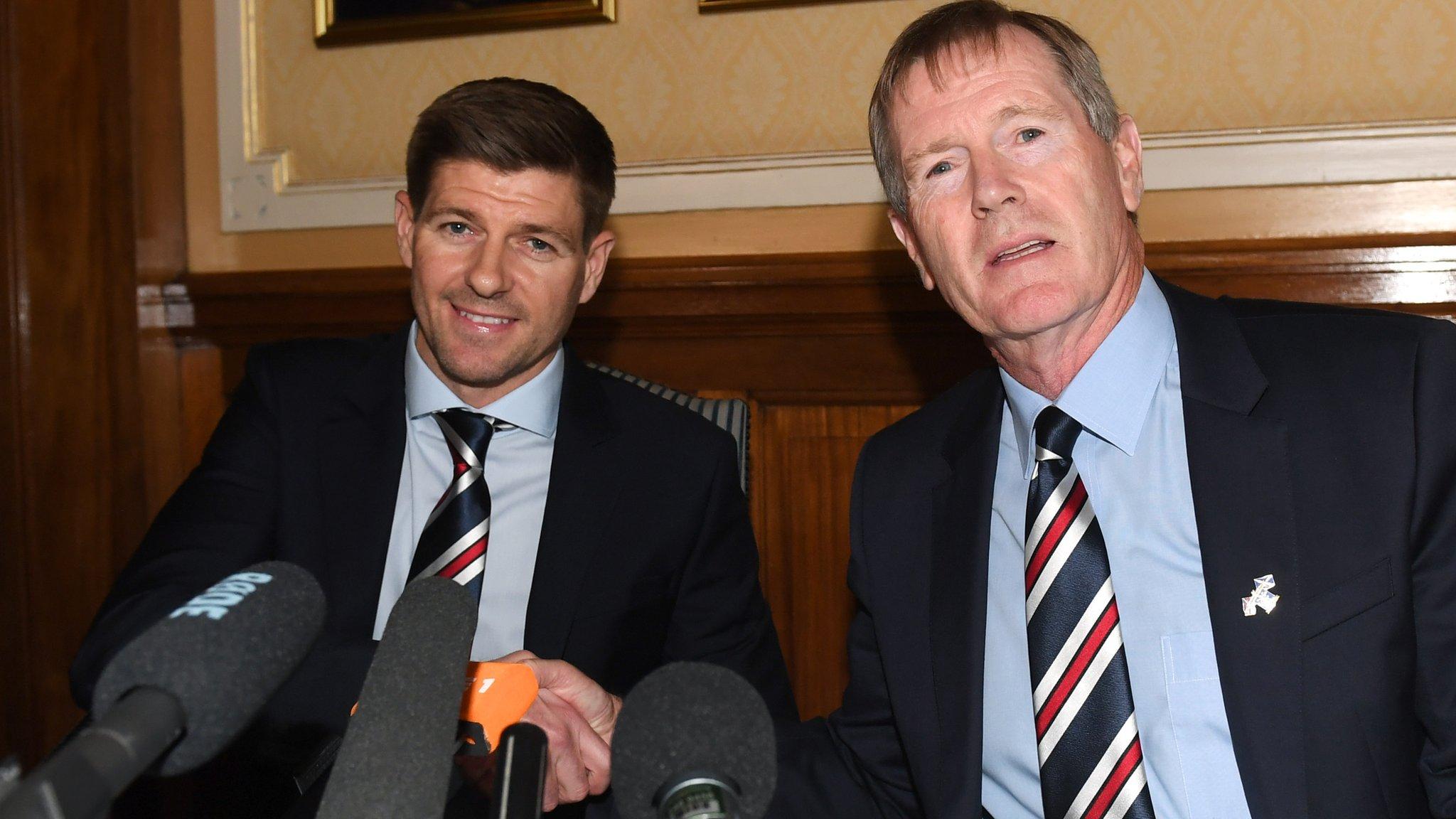 Steven Gerrard: Rangers boss won't make predictions about future success