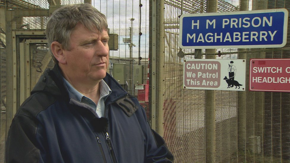 Daniel McConville's father protests over jail death