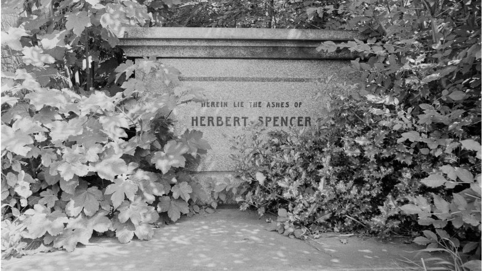 Tumba de Herbert Spencer