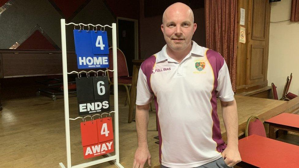 Wales short mat bowls international, Kieran Proctor