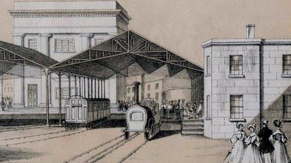 Curzon Street station