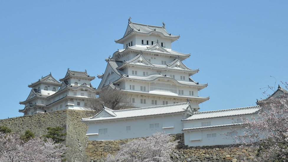 Himeji Castle, in the Kansai region, provided the backdrop for scenes from 1967 James Bond film You Only Live Twice
