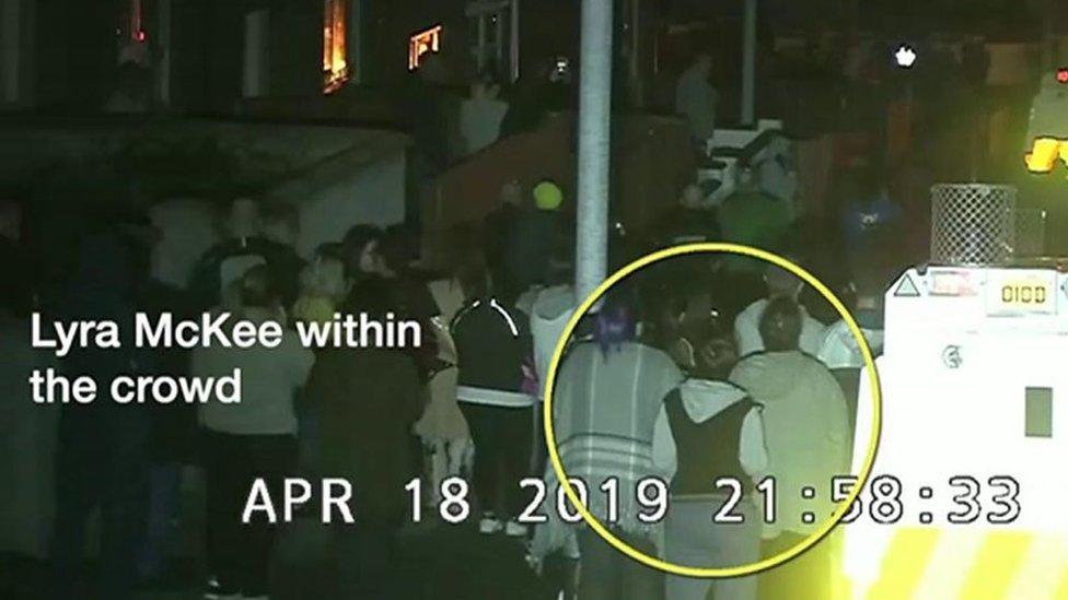 Lyra McKee murder: Police release CCTV footage