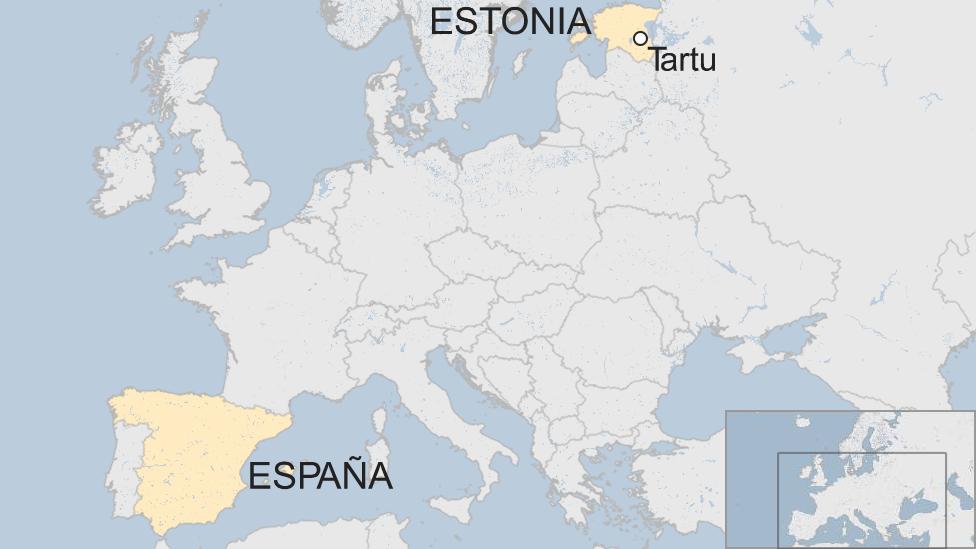España y Estonia