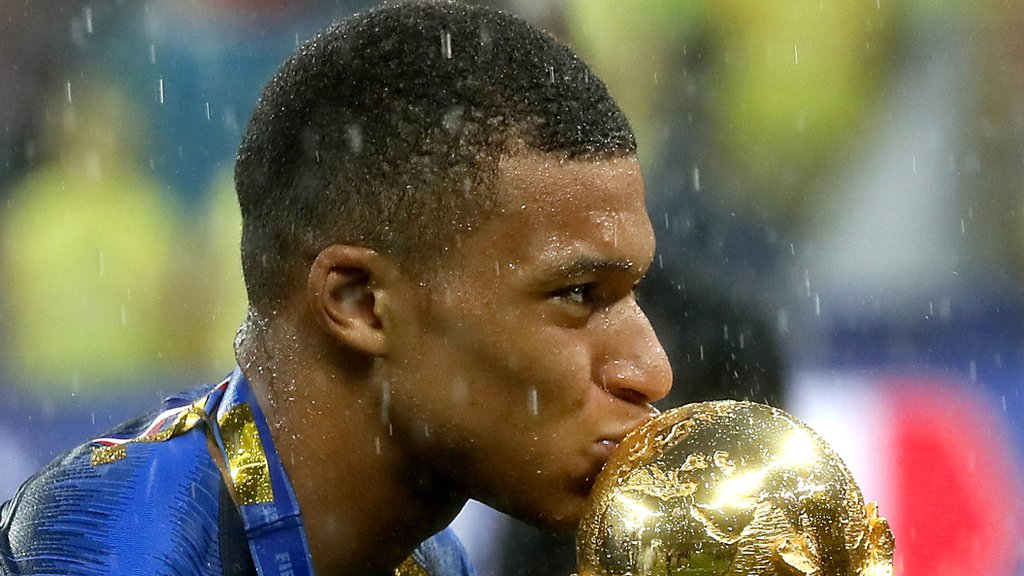 Mbappe: France World Cup star 'taking crown from Messi and Ronaldo'