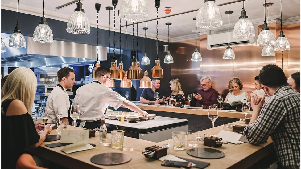 The Crockers Chef's Table in Tring