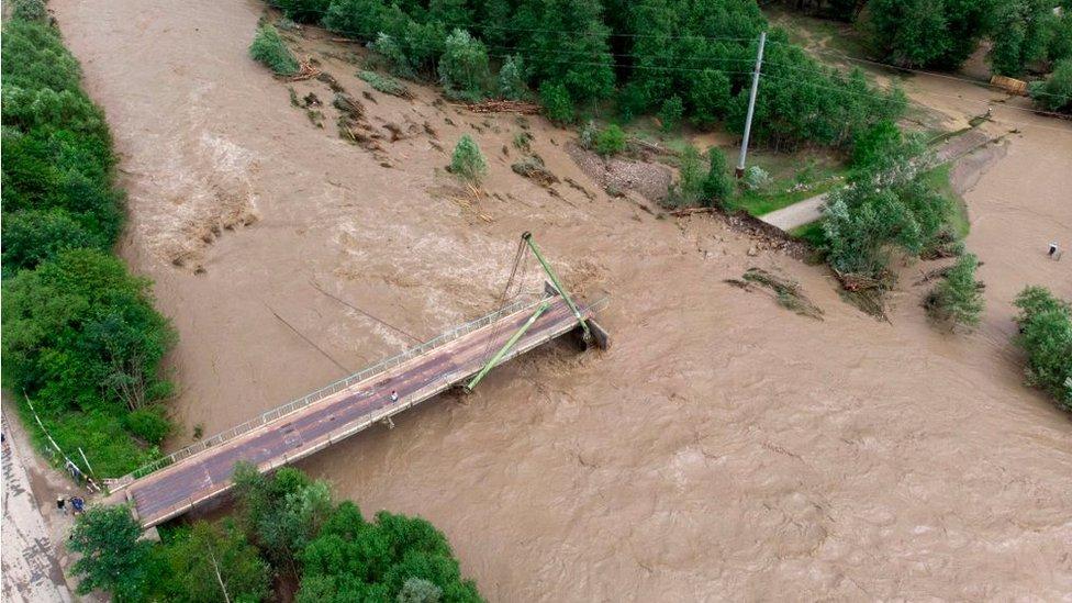 Poplave u Ukrajini, 2020.