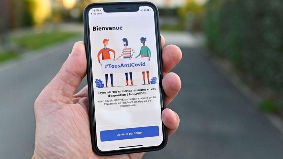 Возобновленное приложение отслеживания Франции: #TousAntiCovid