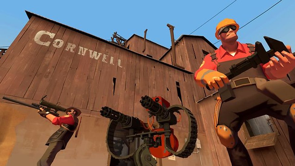 Screenshot from Team Fortress 2