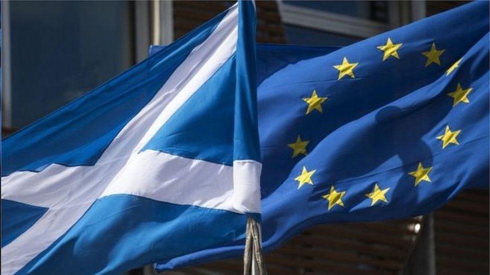 蘇格蘭歐盟