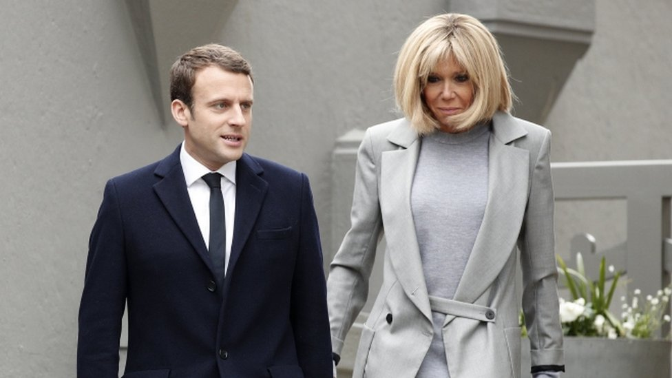 Macron Condemns Bolsonaro For Disrespectful Post About His Wife Bbc News