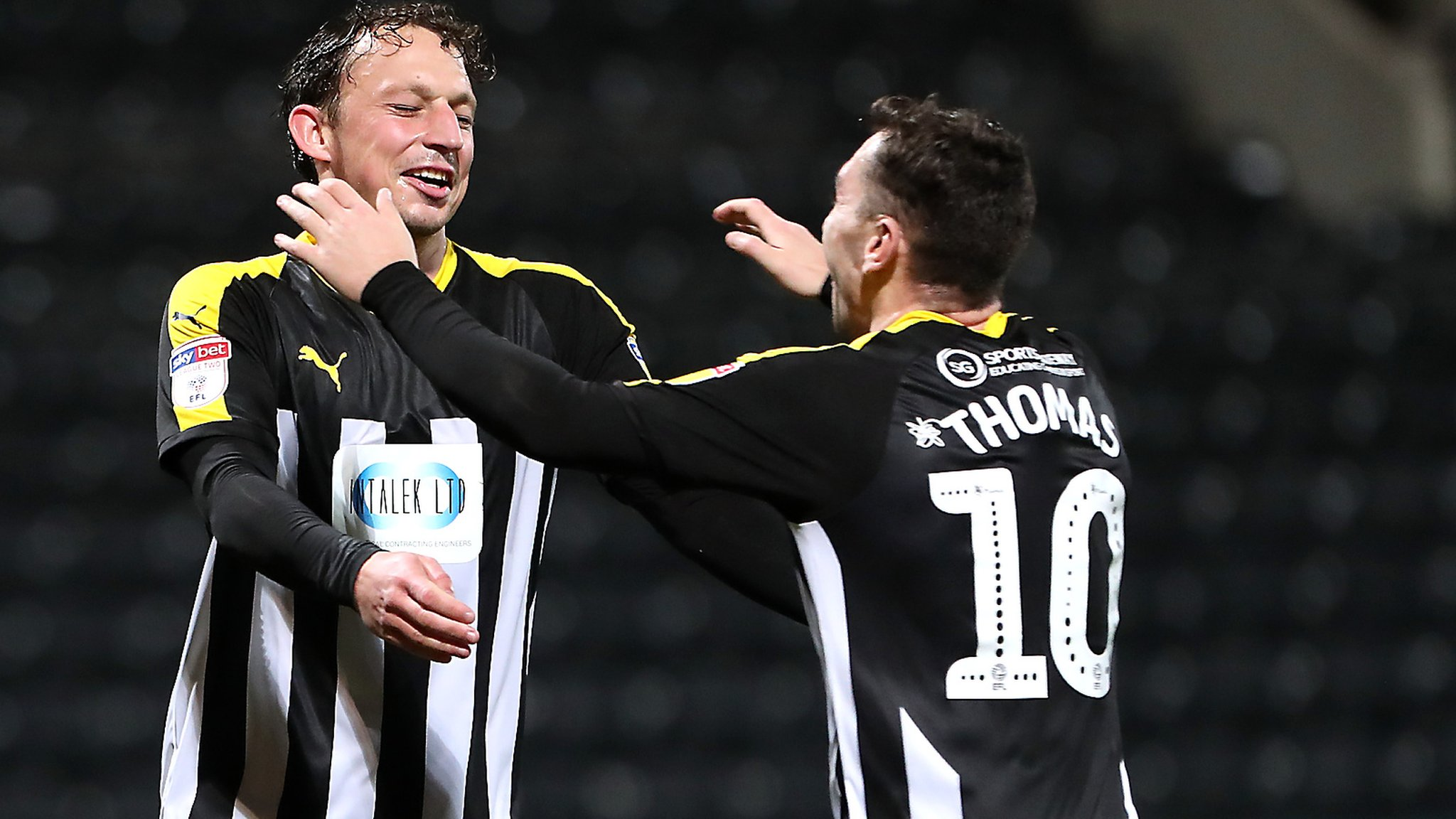 Checkatrade Trophy: Notts County advance to second round after sacking Harry Kewell
