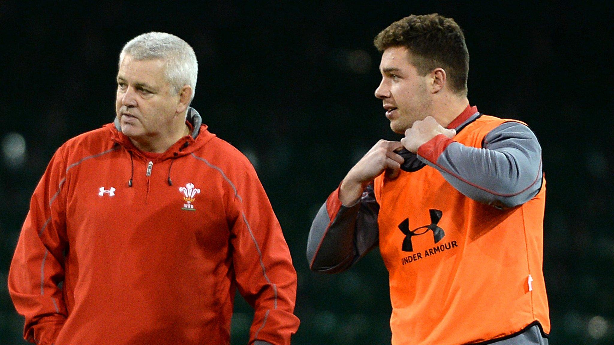 Gatland hopes for 'common sense' over Webb's Wales eligibility