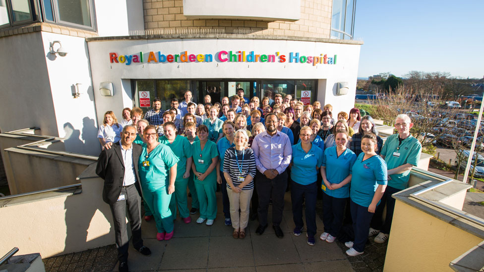 Aberdeen Children's Hospital series