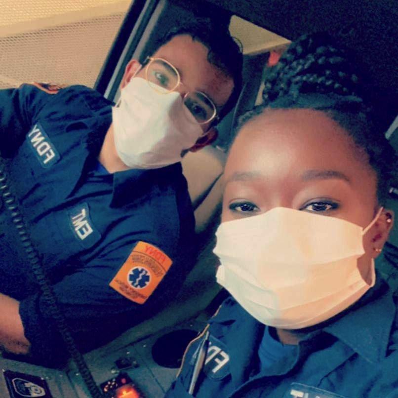 NYC medical staff