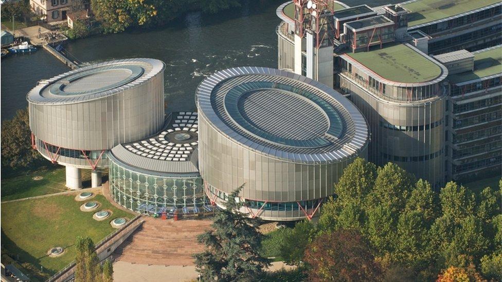 Fransa'nın Strazburg kentindeki AİHM binası