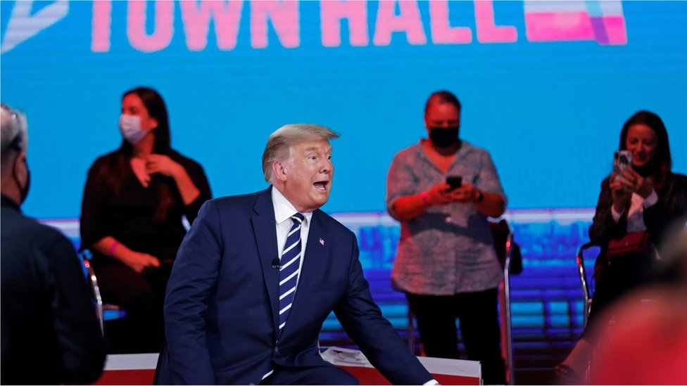 US election: Trump and Biden Deflect Key Questions in TV Grilling