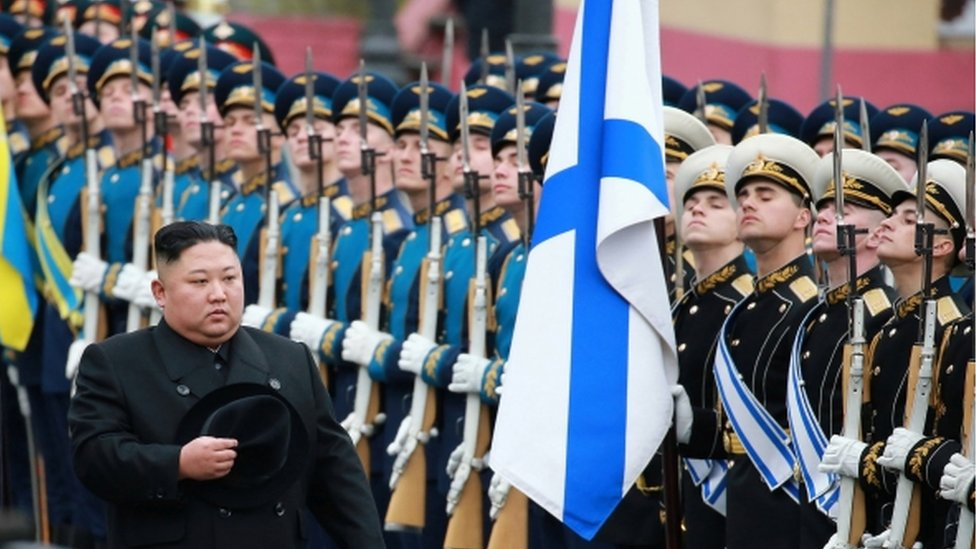 Vladimir Putin and Kim Jong-un hold Vladivostok summit