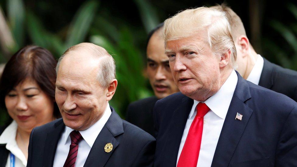 Putin i Tramp 2017