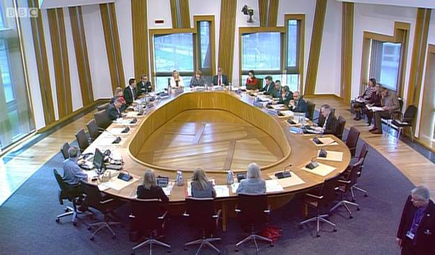 The Social Security Committee at Holyrood