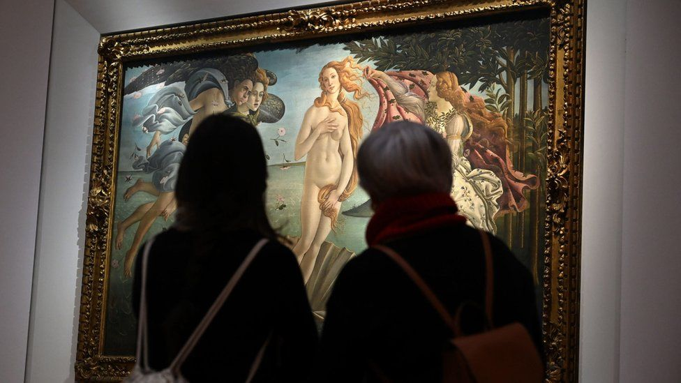 لوحة ولادة فينوس لبوتيتشيلي