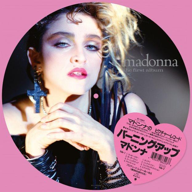 Artwork for Madonna's The First Album