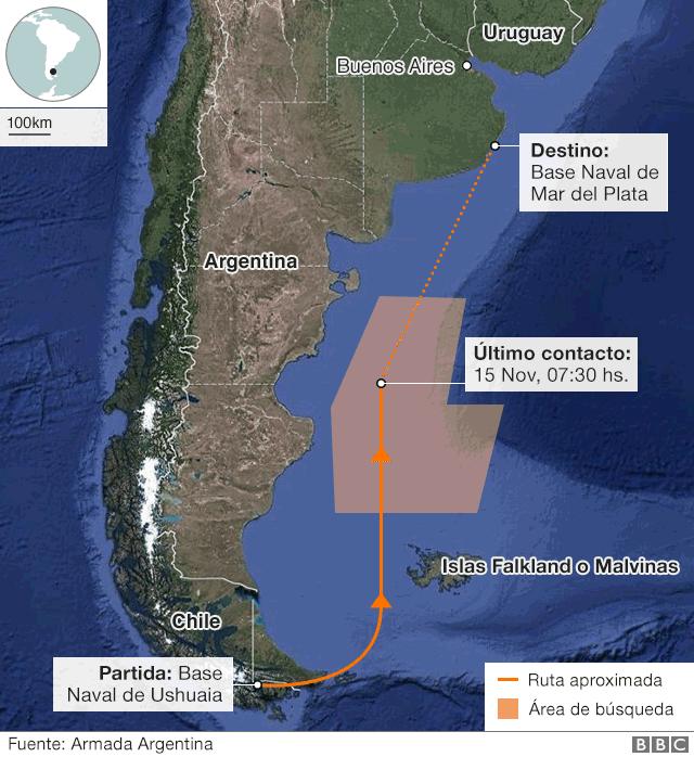 Mapa ARA San Juan