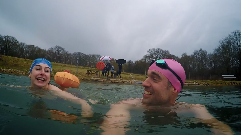 Cold water swimming