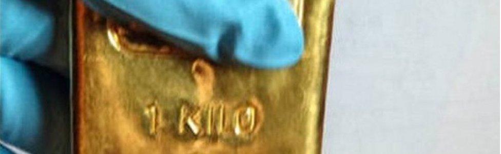Gold bar seized by Dutch prosecutors (image courtesy FIOD)
