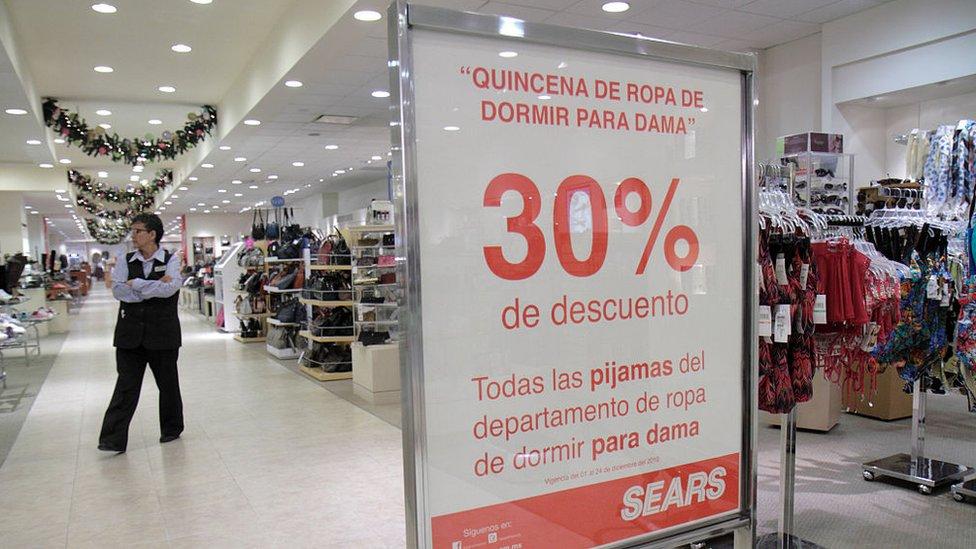 Sears vive uno de sus mejores momentos en México.