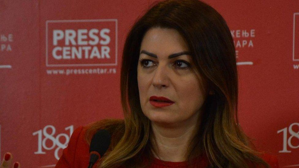 Tatjana Matić je mnistarka trgovine, turizma i telekomunikacija, koja je na toj poziciji nasledila Rasima Ljajića