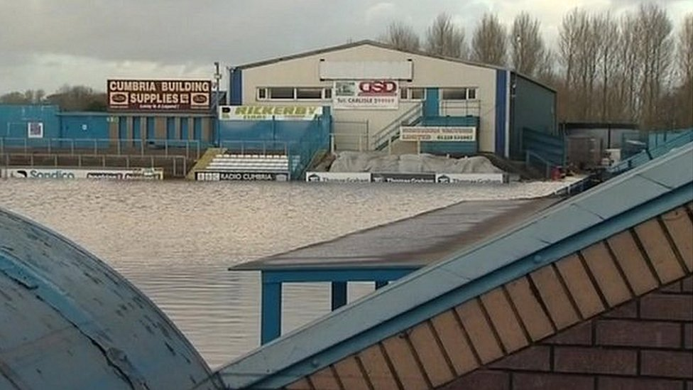 Carlisle United plea to rebuild archive after floods