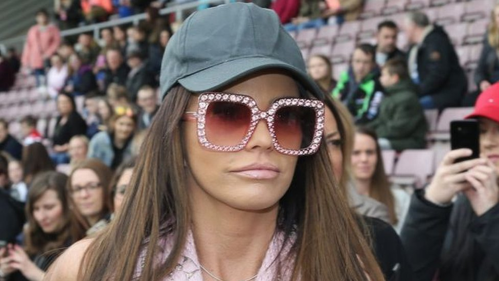Katie Price charged with drink-driving