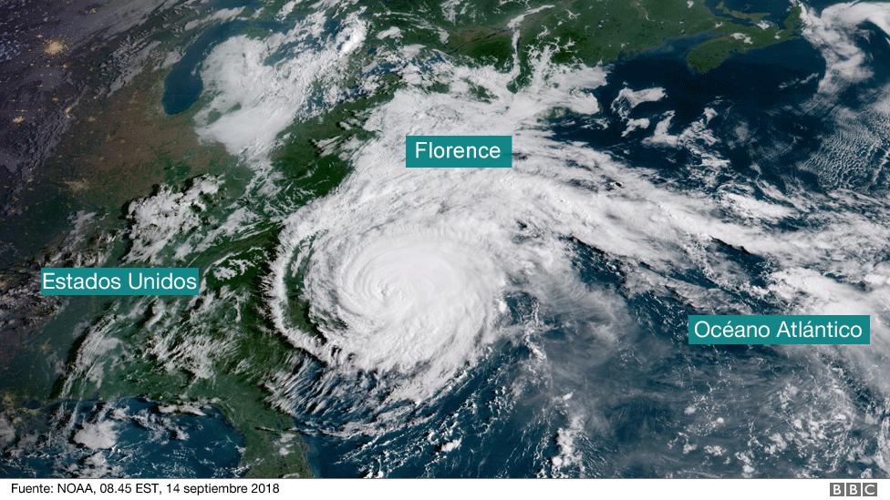 Mapa Florence 14 septiembre 2018