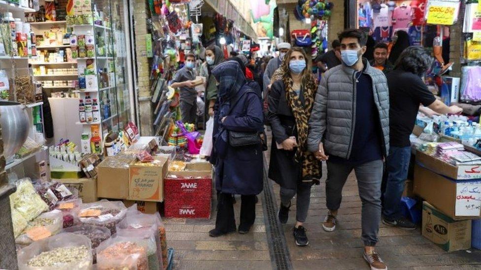 Tajrish Bazaar, Tehran (17/05/21)