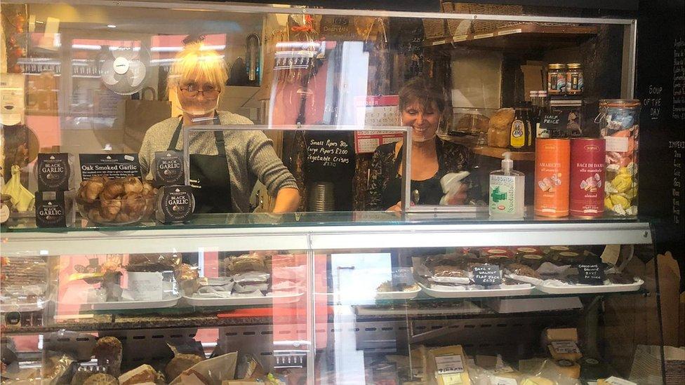 Ferguson's delicatessen, Hadleigh