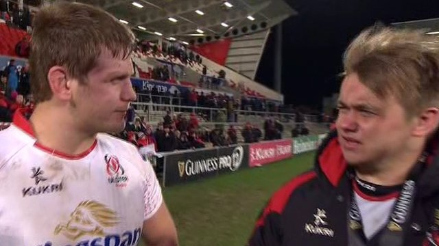 Chris Henry hails the impact Ulster rookie Kyle McCall has made this season