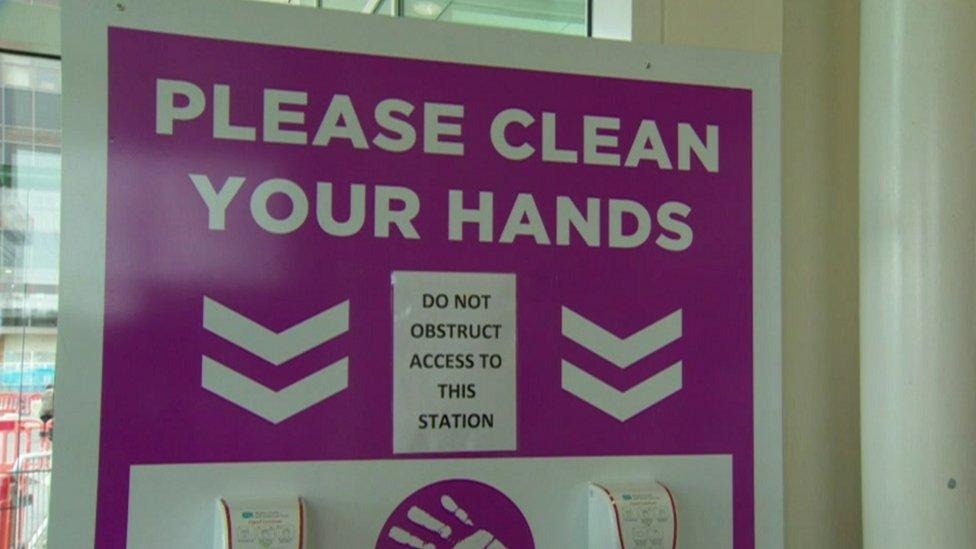 Hand washing station