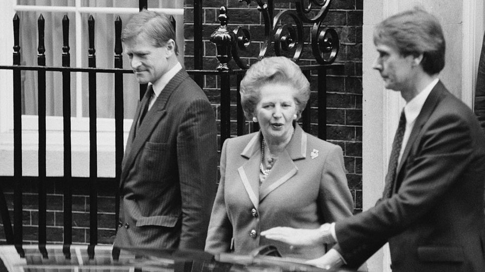 Margaret Thatcher, primera ministra de Reino Unido entre 1979 y 1990.