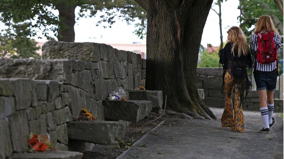 Un sitio conmemorativo en Salem, Massachusetts