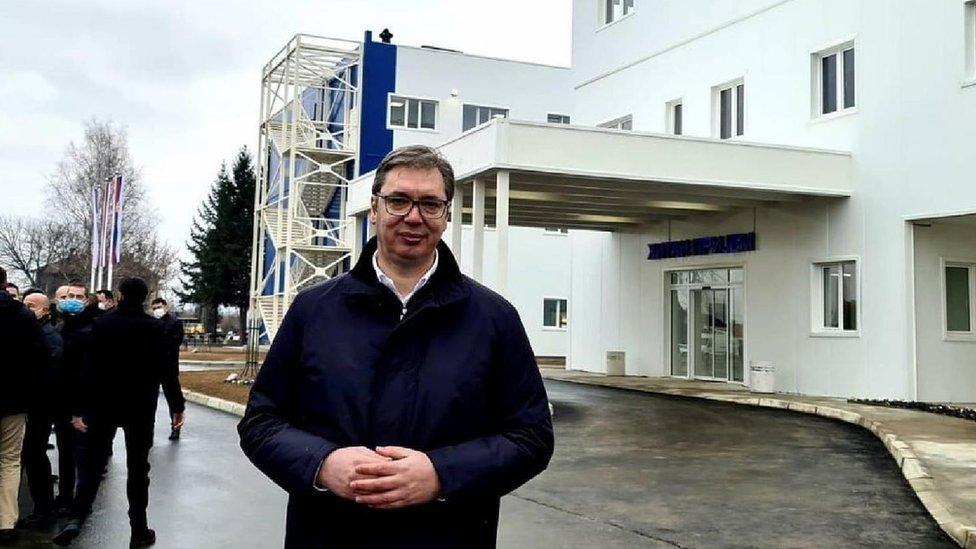 Predsednik Vučić na otvaranju bolnice u Kruševcu