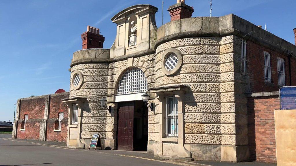 Shrewsbury's former Dana prison wall demolished