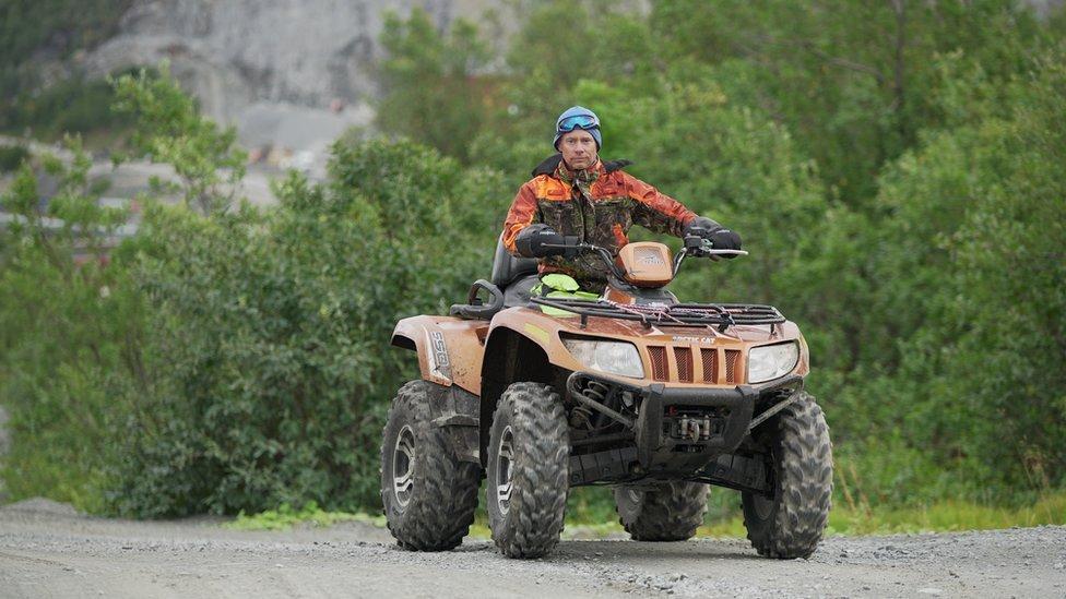 Oystein Rushfeldt, director ejecutivo de la compañía minera Nussir