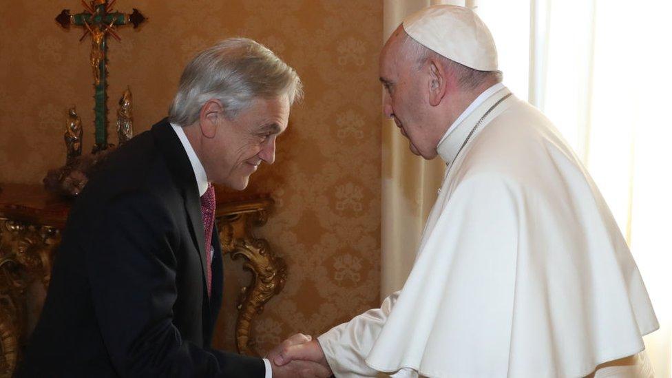 Piñera y Francisco