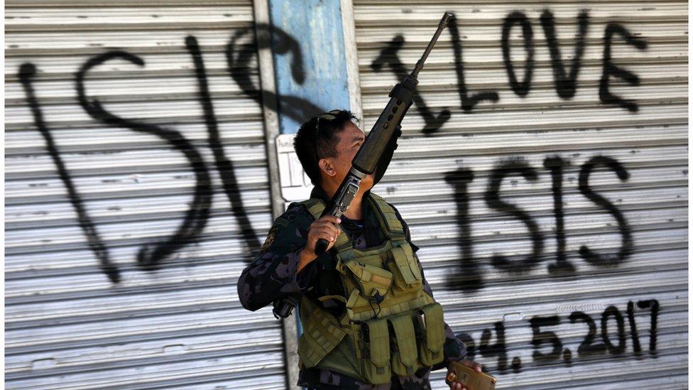تنظيم الدولة الاسلامية في الفيليبين